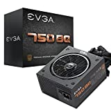 EVGA 750 BQ, 80+ Bronze 750W, Semi Modular, 5 Year Warranty, Includes Free Power On Self Tester, Power Supply 110-BQ-0750-V1