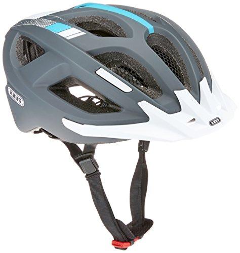 ABUS Aduro 2.0 Stadthelm - Allround-Fahrradhelm in sportivem Design für den Stadtverkehr - für Damen und Herren - 72549 - Grau/Weiß, Größe L