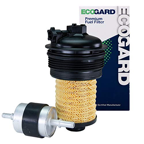 ECOGARD XF11644 Premium Diesel Fuel Filter Fits Ford F-150 3.0L DIESEL 2018-2021