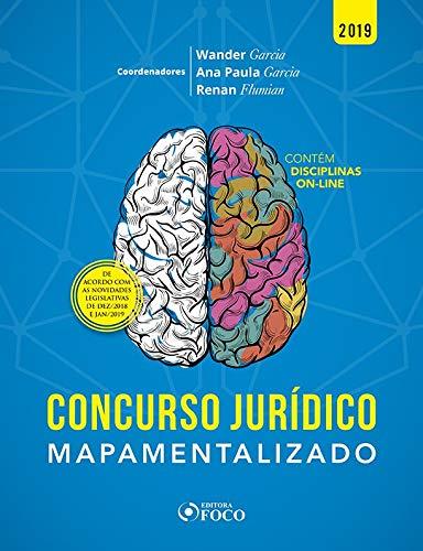 Concursos jurídicos mapamentalizados - 1ª edição - 2019