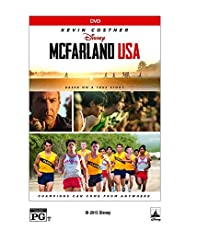 Image of McFarland USA DVD. Brand catalog list of Walt Disney Studios. This item is rated with a 4.9 scores over 5