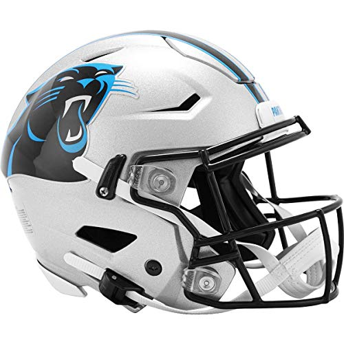 Riddell NFL Carolina Panthers Speedflex Authentic Football Helmet , Large