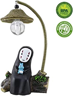 Spirited Away Studio Ghibli No Face Man with Night Light Children's Mini Table Lamp, Breastfeeding Bedside Lamp, Toys, Handicraft Home Accessories. as A Gift Creative Birthday- Rabbit