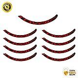 Pegatinas Llanta para Bicicleta ROVAL Control SL MTB 29 Pulgadas Stickers Bike (Rojo)