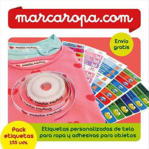 Marcaropa - Guía con código promocional para pedido de etiquetas personalizadas de tela para ropa y adhesivas para objetos
