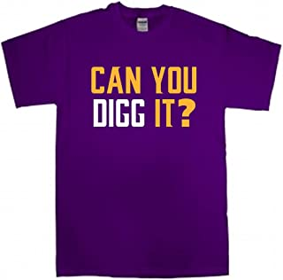 Purple Minnesota Diggs Can You Digg It T-Shirt