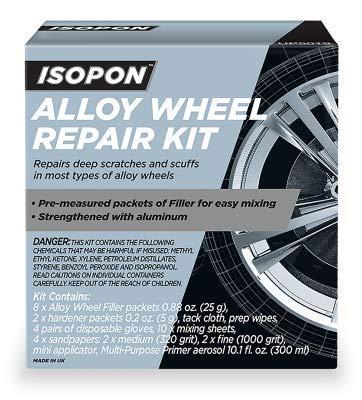 U-POL Isopon Alloy Wheel Filler Kit
