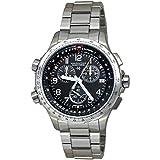 Hamilton Khaki X-Wind Quartz Movement Black Dial Men's Watch H77912135