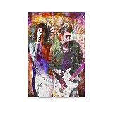 QWSDF Poster, Motiv: The Rolling Stones Gitarristen,