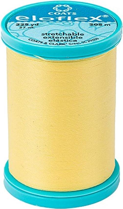 Coats Eloflex Stretch Thread 225yd-yellow