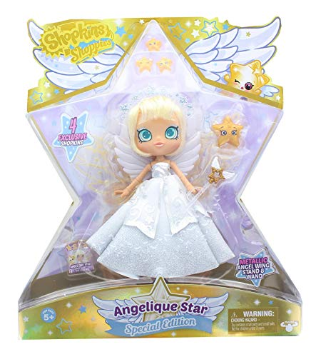 Shopkins Shoppie Doll Angelique Star Special Edition Angel Doll
