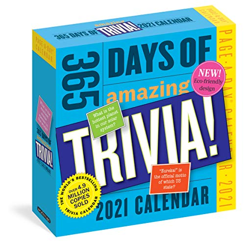 Compare Textbook Prices for 365 Days of Amazing Trivia! Page-A-Day Calendar 2021  ISBN 9781523508426 by Workman Calendars