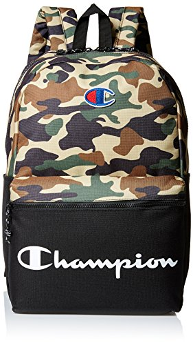 Champion Men's Manuscript Backpack, green, One size