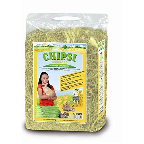 Chipsi Stroh Farmland, naturbelassens Stroheinstreu Größe 800g