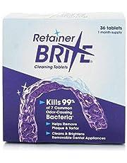 Retainer Brite® - Tabletas para Limpieza de Dentaduras Postizas