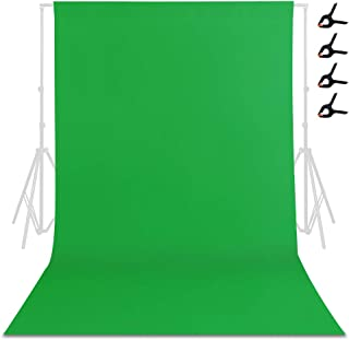 TRLYC Fotohintergrund, grüner Hintergrund, Fotohintergrund, Fotografie Hintergrund, Hintergrund für Videoaufnahmen, 2 x 3 m hoch