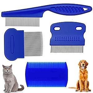 weback Flea Comb for Dogs, Cats,Pets flea Comb Dog cat pet Small Dog pet flea Comb