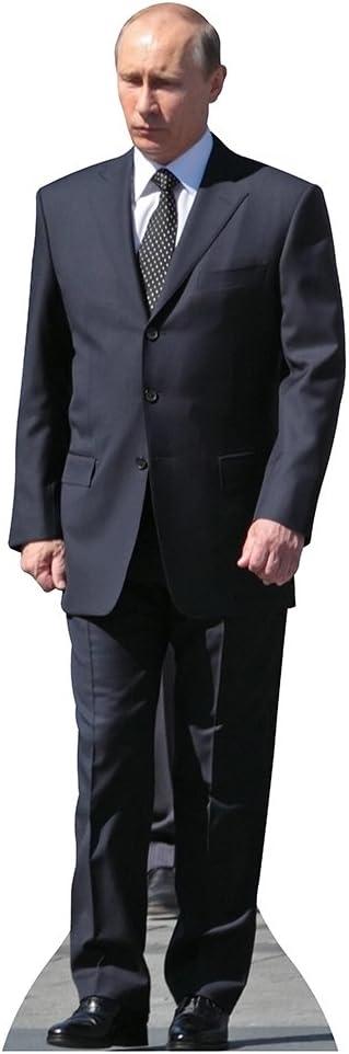 Recortes de estrellas, Presidente Putin, recorte de cartón de pie, de tamaño real político – 67 pulgadas x 22 pulgadas
