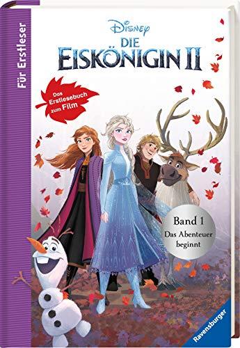 Disney Die Eiskönigin 2 - Für Erstleser: Band 1 Das Abenteuer beginnt: Das Erstlesebuch zum Film: Für Leseanfänger