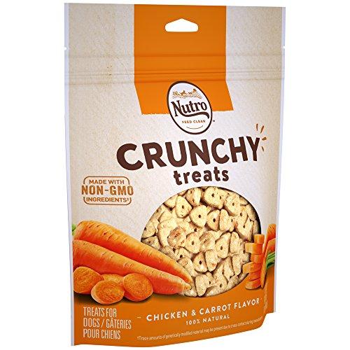 NUTRO Small Crunchy Natural Dog Treats Chicken & Carrot Flavor, 16 oz. Bag