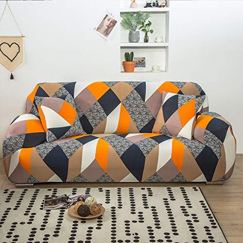 Funda para sofá Elasticas de 1 2 3 4 Plazas Impresión Flor