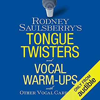 Rodney Saulsberry's Tongue Twisters and Vocal Warm-Ups audiobook cover art