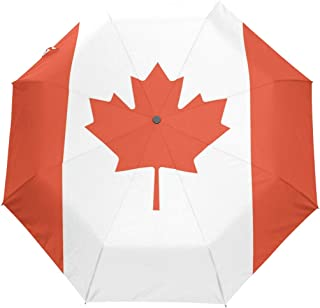 canadian flag umbrella