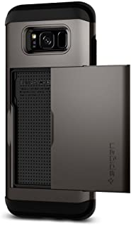 Spigen Slim Armor CS Designed for Samsung Galaxy S8 Case (2017) - Gunmetal