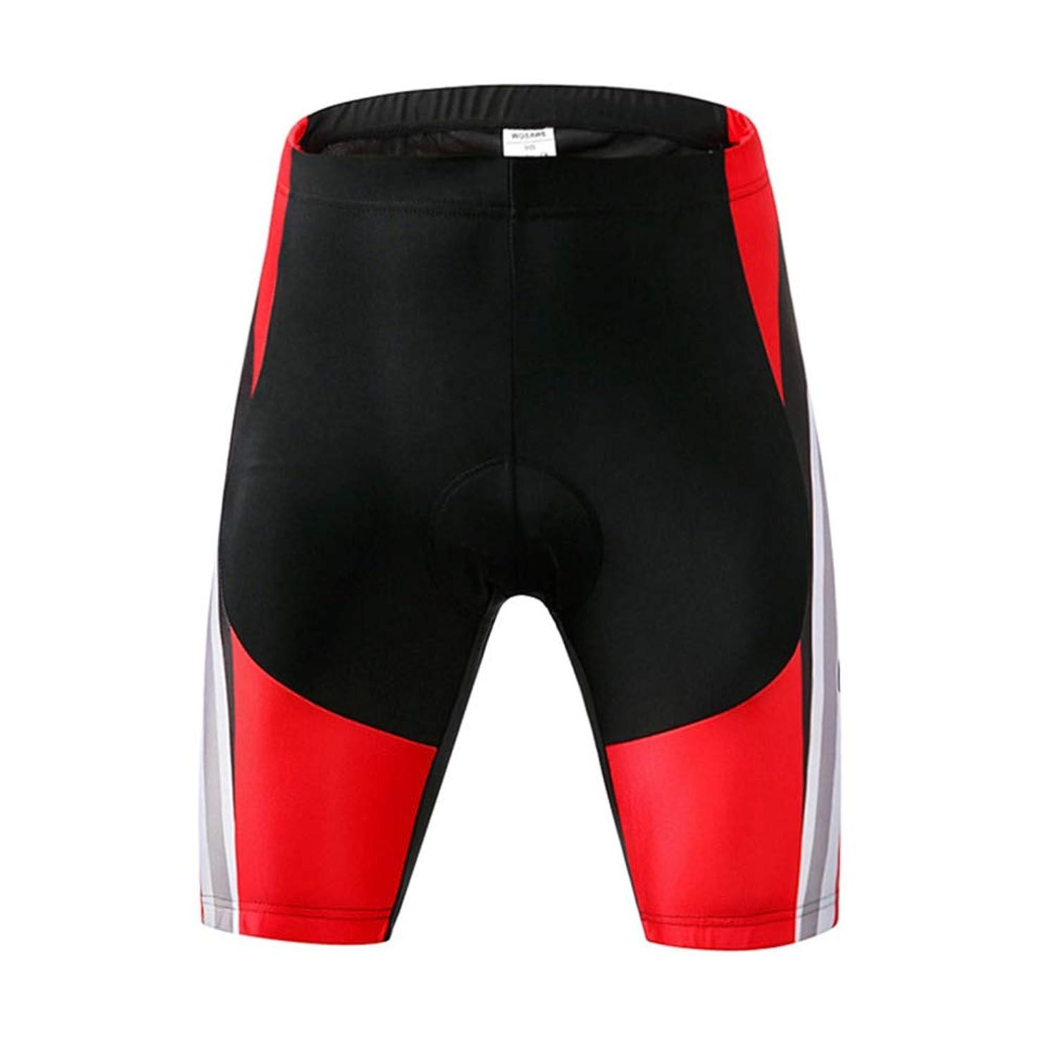 LSJZS Mens Gel Padded Cycling Shorts, Road Bike Shorts Bicycle Pants Cycling Clothing for Men