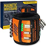 Magnetic Wristband for Holding Screws, Perfect Valentines Day Gifts for Him, Gadgets for Men, Gifts for Men DIY Handyman, Carpenter, Repairman, Dad, Husband, Boyfriend, Mens Gifts, Surprise for Him