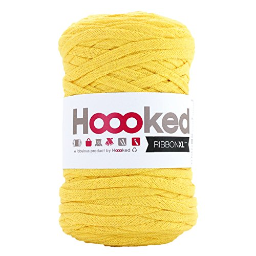 Hoooked Ribbon XL Yarn-Lemon Yellow
