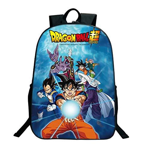 Mochila Dragon Ball Niño, Mochila Dragon Ball Escolar Adolescente Chicas Primaria Mochilas y Bolsas...