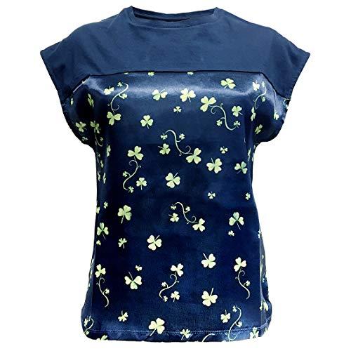Patrick Francis Damen PF7418 T-Shirt, Navy, Large