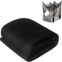 Shatex Mosquito Netting 1.67yardx5yard Insect Pest Barrier Netting for Outdoor/Bed/Wedding, Black