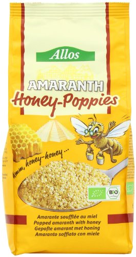 Allos Amaranth Honig Poppies, 2er Pack (2 x 300 g)