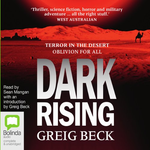 Dark Rising audiobook cover art