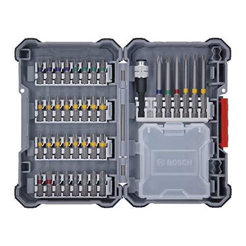 Bosch Professional 18V System Taladro percutor a batería GSB 18V-21 (incl. batería de 2x2,0 Ah, juego de accesorios de 40 piezas, en L-BOXX 136) - Amazon Edición