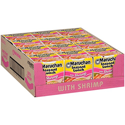 12-Pack Maruchan Instant Lunch Shrimp Flavor $3.36 + FS