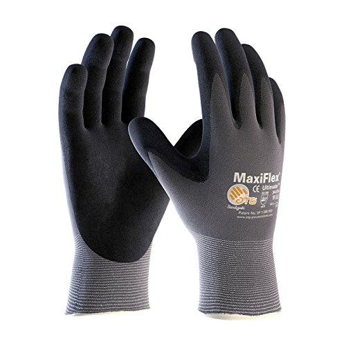 Maxiflex 34-874 Ultimate Guantes de trabajo de nitrilo, talla XS, 3 pares