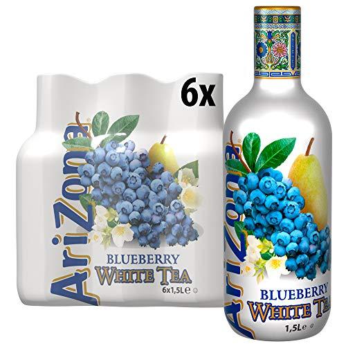 AriZona White Tea Blueberry PET, (6x1.5l), 9 l