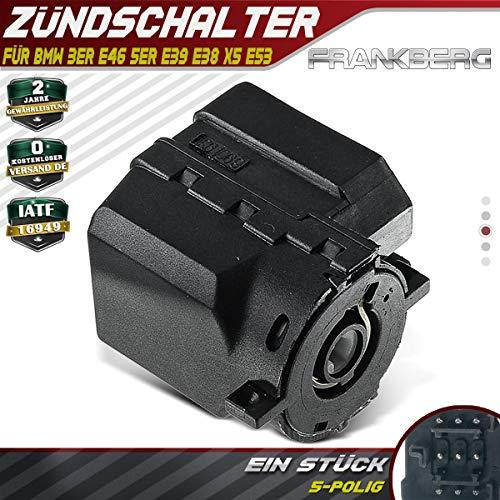 Zündschalter Startschalter Zündschloss für 3er E46 5er E39 E38 X5 E53 1994-2007 61326901961