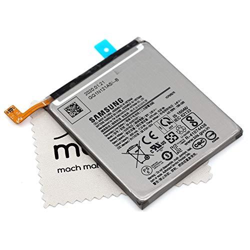 Akku für Samsung Original EB-BA907ABY L für Samsung Galaxy S10 Lite (G770F) mit mungoo Displayputztuch