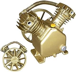 5HP Twin Cylinder Air Compressor Pump   Dual 2 Piston V-Style Motor Head Tools