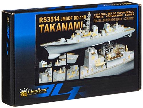 Lion Roar-GreatwallHobby RS3514 JMSDF DD-110 Takanami pour Pitroad/TRU