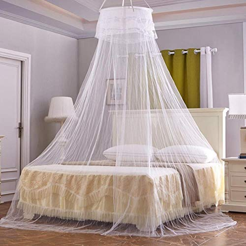 60x260cm Mosquito Net Palance Canopy Bed Dome Mosquito Net Anti-insect Mosquito Net Double Layered Yarn Bed Tent Girl Room Decor
