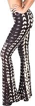 SATINA High Waisted Flare Palazzo Wide Leg Pants | Printed & Solid | Reg & Plus