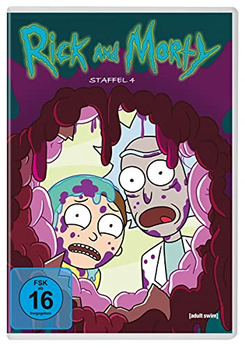 Rick and Morty - Staffel 4 [2 DVDs]