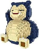 ZHZHUANG Bloque de Juguete Building Block Cute Dibujos Animados Relaxo Modelo Set Nano Micro Blocks Diy Juguete Regalos para Niños Adultos