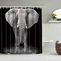 シャワーカーテンバナナヤシの葉防水バスライナーフックに含まれるdBathroom装飾的なアイデアポリエステル生地アクセサリー