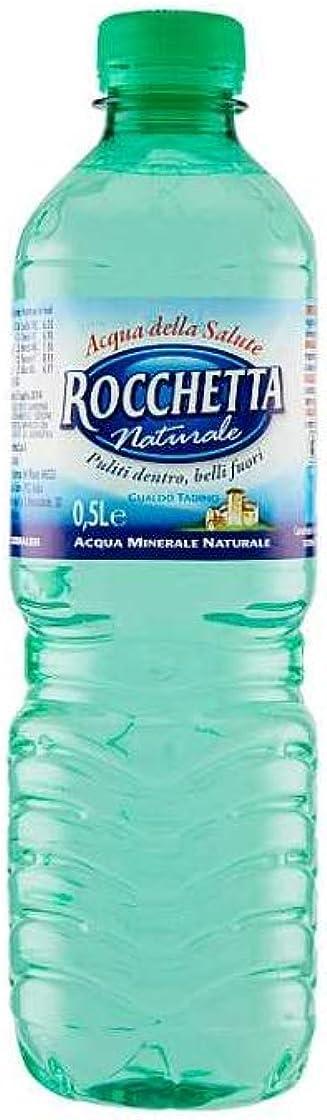 Rocchetta acqua naturale 500 ml 24pz B079ZZZ12F